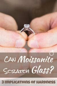 Can Moissanite Scratch Glass
