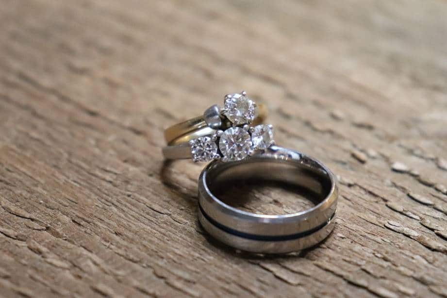 Moissanite can often be hard to distinguish from diamond